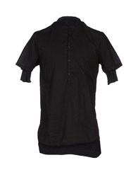 Thom Krom Shirts Blouses Men Black