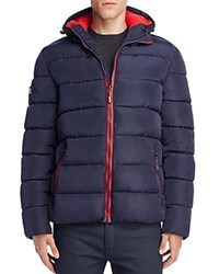 Superdry Polar Sports Puffer Jacket Navy Red