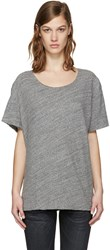 R 13 R13 Grey Rosie T Shirt