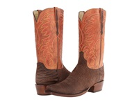 Lucchese Hl1509.73 Brown Amazon Peanut Brittle Burnished Cowboy Boots