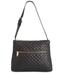 f724ac85ddc Tommy Hilfiger Pauletta Quilted Small Hobo Black