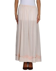 Local Apparel Long Skirts Light Pink