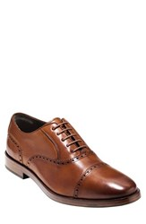 Cole Haan Men's 'Hamilton' Cap Toe Oxford British Tan Leather