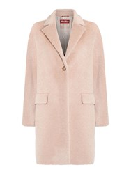 Max Mara Orlo Button Up Alpaca Coat Beige