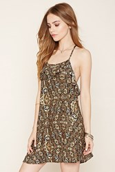 Forever 21 Tribal Print Mini Dress