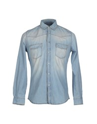 Siviglia Denim Denim Shirts Men Blue