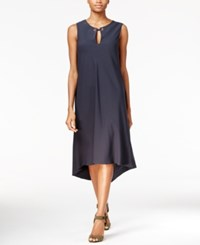 Rachel Roy High Low Shift Dress Only At Macy's Dark Lapis