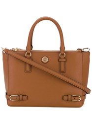 Tory Burch Classic Tote Women Leather One Size Brown