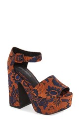 Jeffrey Campbell Women's 'Candice' Platform Sandal Orange