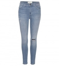 Current Elliott The Stiletto High Rise Skinny Jeans Blue