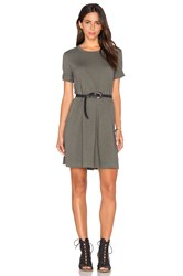 Wilt Trapeze Tee Dress Gray