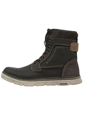 Your Turn Laceup Boots Espresso Brown