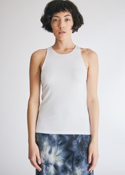 Stelen Mica Tank Top In White Size Extra Small Spandex
