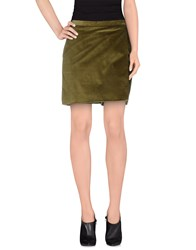 Manuel Ritz Skirts Mini Skirts Women Green