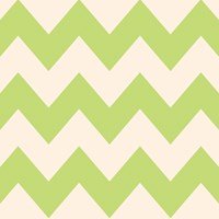 Wallcandy Chevron Apple Cream Removable Wallpaper