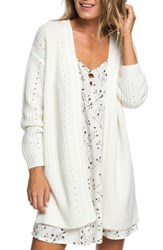 Roxy Ubud Colors Cardigan Marshmallow