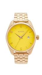 Nixon The Bullet Living Colour Watch Gold Yellow