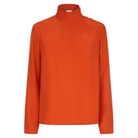 Hobbs Angie Blouse Burnt Orange