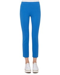 Akris Punto Franca Techno Stretch Pants Azure