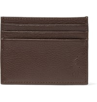 Polo Ralph Lauren Full Grain Leather Cardholder Dark Brown
