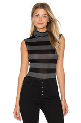 Twenty Luxe Turtleneck Bodysuit Black