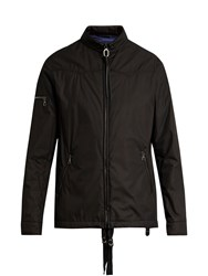 Lanvin Padded Cotton Blend Jacket Black