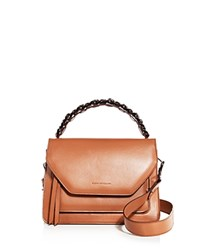 Elena Ghisellini Eclipse Sensua Medium Leather Satchel Canyon Brown