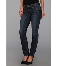 Kut From The Kloth Stevie Straight Leg In Wise Wise Wash W Eur Women's Jeans Blue