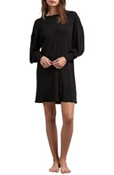 Volcom Lil T Shirt Dress Black