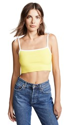 Joostricot Cropped Cami Blazing Yellow