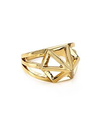 Volu Cage Ring Gold