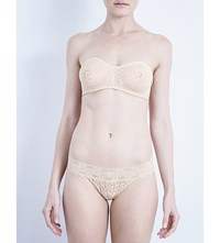 Wacoal Halo Stretch Lace Strapless Bra Naturally Nude