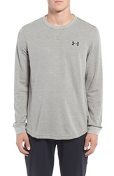 Under Armour Men's Waffle Knit T Shirt Carbon Heather