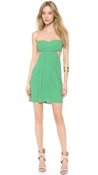 Bcbgmaxazria Gathered Front Dress Kelly Green