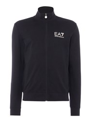 Emporio Armani Men's Ea7 Train Core Id Full Zip Through Sweatshirt Black