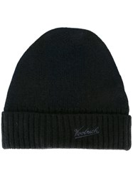 Woolrich Embroidered Logo Beanie Black