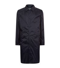 Officine Generale Lightweight Travel Coat Male Navy