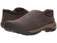 Keen Austin Casual Slip On Chocolate Brown Black Olive Shoes