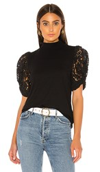 Generation Love Alanna Lace Top In Black.