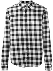 Woolrich Checked Shirt Black