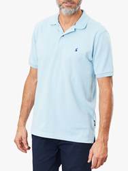 Joules Woody Classic Polo Shirt Light Blue