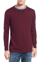 Men's Original Paperbacks 'San Francisco' Crewneck Sweater Plum