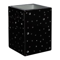 Mike Ally Stardust Toothbrush Holder Black Silver