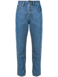 Societe Anonyme 70S Cropped Jeans Blue