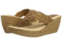 Sbicca Porto Tan Women's Wedge Shoes