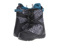 Burton Starstruck Boa '17 Black Snow Leopard Women's Cold Weather Boots