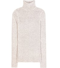 Tom Ford Cashmere Turtleneck Sweater Dress Beige