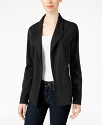 Styleandco. Style Co. Open Front Blazer Only At Macy's Deep Black