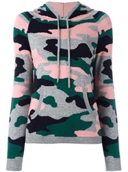 Chinti And Parker Camouflage Intarsia Hoodie