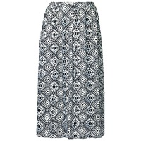 Fat Face Collier Diamond Skirt Ivory